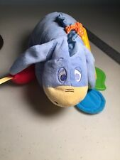Kids Preferred Disney Baby Eeyore Plush Attachable Hanging Activity Toy