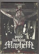 MAYHEM - pure fucking mayhem CD+ DVD