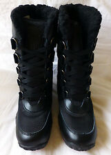 Pajar Canada Aventure Low Womens Black Waterproof Winter Boots Sze 37/7 New $175