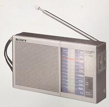 Vintage Sony ICF-300W AM/FM Radio Dealer Sheet