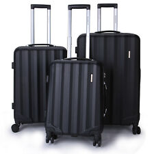 3Pcs Travel Luggage Set Carry on Suitcase Spinner Rolling Trolley Case TSA Lock