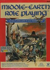 MIDDLE-EARTH ROLE PLAYING GAME SET UNCUT STANDS VF! MERP Tolkien Box Module 8100