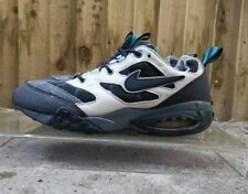 Vintage 1995 og Nike Air Mad Max en Negro/Negro/Blanco/Azul! Reino Unido 9 🔥 🔥 auténtica