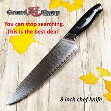 Kitchen Gyuto Chef's Knife 200mm Japanese Damascus Steel vg10  PRO Knives GIFT