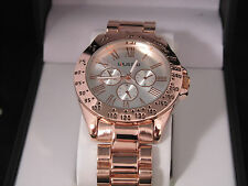Kenneth Cole Unlisted Ladies Rose Gold Stainless Steel Watch UL 9411