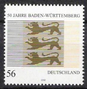 BUND Nr.2248 ** 50 Jahre Baden-Württemberg 2002, postfrisch