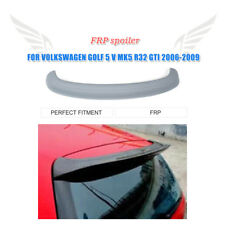 Unpainted Fiberglass Rear Roof Spoiler For Volkswagen Golf 5 V MK5 GTI R32 06-09