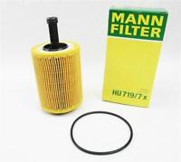 Original MANN Ölfilter HU719/7x Filtereinsatz Audi VW 2,0 TDI R32 3,2l V6 V5