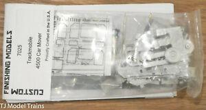 Custom Finishing Models HO #7025 Trackmobile 4500 Car Mover (White Metal Kit)