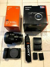 Sony A6500 24.2 MP Digital Camera with 18-105mm f/4 G OSS Lens