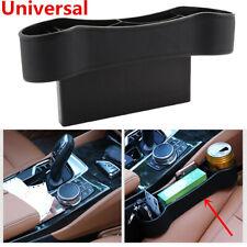 Auto Seat Organizer Storage Box Drink Holder Black Universal For Car Interior