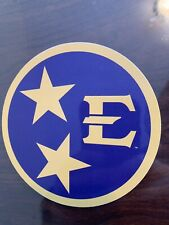 ETSU Buccaneers College NCAA Car Bumper Vinyl Sticker Decal 4x4 inch
