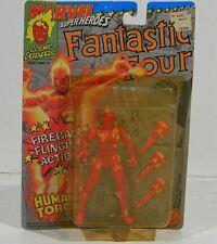 Marvel Superheroes Fantastic Four Human Tourch Toy Biz Marvel Comics 4837 1992