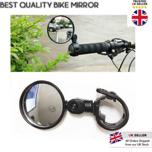 Flexible Safe Rearview Rear View Mirror 360° For Cycling Bike Bicycle Handlebar