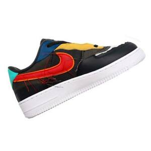 "NIKE AIR FORCE 1 LOW BHM ""RESPECT"" BLACK HISTORY MONTH MEN'S SHOES CT5534-001 9"