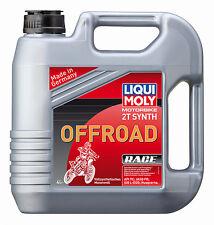LIQUI Moly MOTORBIKE 2t synth offroad race pieno sintetico 4 L 3064 #