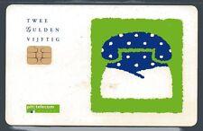chipcard Nederland  - SEASONS GREETINGS -  used  - see scans