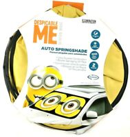 """Despicable Me Minion Made Auto Spring Shade 28.5"""" x 31.5"""" 2 Pieces Universal Fit"""
