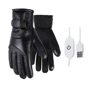 USB Motorrad Heizhandschuhe Beheizte Handschuhe Wasserdicht Warm Winter DHL