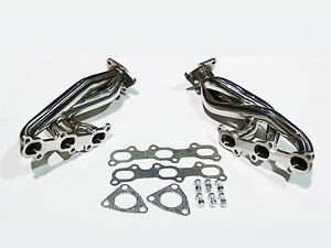 ZENITHIKE P17517-SL DP350ZG35 Stainless Exhaust Manifold Header System Replacement Exhaust Pipe Fit 2003-2008 Infiniti FX35 2003-2008 Infiniti G35 2006-2008 Infiniti M35 2003-2009 350Z