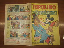 WALT DISNEY ALBO D'ORO  N°125 TOPOLINO E GLI SPAVENTAPASSERI 2-10-1948