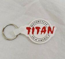 Titan Motorcycle Keychain