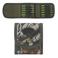 Tourbon Rifle Cartridges Carrier Ammo Pouch Ammunitions Holder Belt Wallet Camo