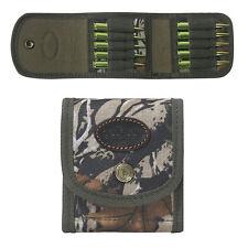 Tourbon Rifle Cartridges Carrier Ammo Pouch Ammunitions Holder Belt Wallet Camo