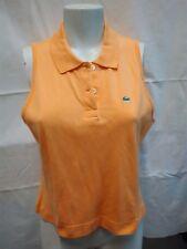 maglietta t-shirt donna puro cotone Lacoste taglia 46