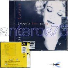 "ROSSANA CASALE ""JACQUES BREL IN ME"" RARO CD FUORI CAT"