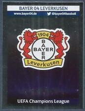 PANINI UEFA CHAMPIONS LEAGUE 2013-14- #044-BAYER 04 LEVERKUSEN TEAM BADGE-FOIL