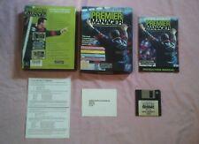 PREMIER MANAGER 1 - 1992 FOOTBALL PC GAME - ORIGINAL RARE BIG BOX EDITION - VGC