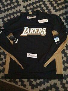 Nike NBA Los Angeles Lakers Team Warmup long Sleeve Shirt men's M
