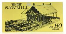 Fine Scale Miniatures 170 HO Scale Old Time Sawmill Kit
