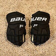 "New listing Pro Stock Oskar Lindblom Bauer Supreme 1S Hockey Gloves - 14"""