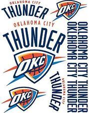 OKC Oklahoma City Thunder Scrapbooking Craft Sticker Sheet Set #1