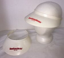 2- HANDS Across AMERICA Plastic Visors  from U.S. Event May 25, 1986