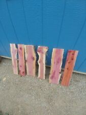 6  Red Cedar Live Edge Wood Slab  Lumber Rustic Woodwork 24in