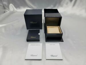 Genuine Chopard Empty Watch Box Outer Booklet Navy 210702022 P153