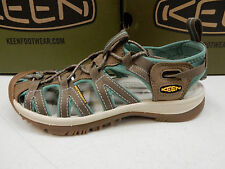 KEEN WOMENS SANDALS WHISPER SHITAKE MALACHITE SIZE 9.5