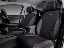 GENUINE HYUNDAI PD i30 2017> PAIR FRONT NEOPRENE SEAT COVERS SET OF 2 WETSUIT
