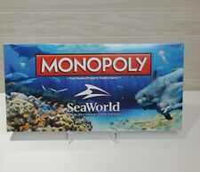 Seaworld Monopoly Wildlife Conservation Edition NEW! Sealed Collectible