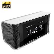 CAMXSW HD 1080P Hidden Spy Camera Alarm Clock FM Radio Speaker / Motion Activate