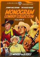 MONOGRAM COWBOY COLLECTION 8 - (Johnny Mack Brown) Region Free DVD - Sealed