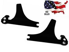 BLACK Harley Detachable Side plates 54258-10A 2000-2017 Softail FAT BOY BREAKOUT