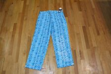 ZUMBA TRIBE N TRUE JERSEY PANTS BANGIN BLUE SIZE SMALL NEW WITH TAGS