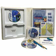 Naui Scuba Diver Diving Education Course 2 Dvds 2 Cds Books Tables Complete Set