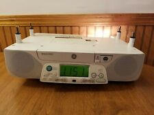 General Electric Ge Spacemaker Am/Fm Radio Clock Light Music Cd Player 7-5290B