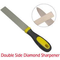 Double Sided Diamond Whetstone Chisel/Blade Sharpening Pocket Stone