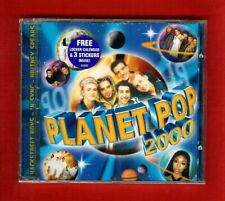 Planet Pop 2000 1999 Cd Various Artists Britney Spears 'N Sync Moffatts Steps